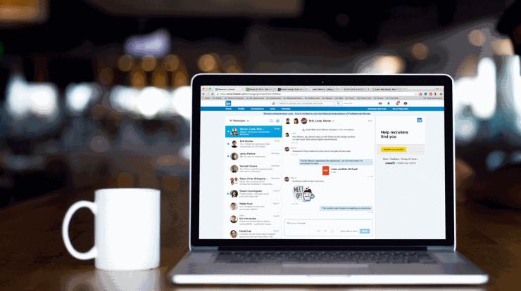 блокировка LinkedIn