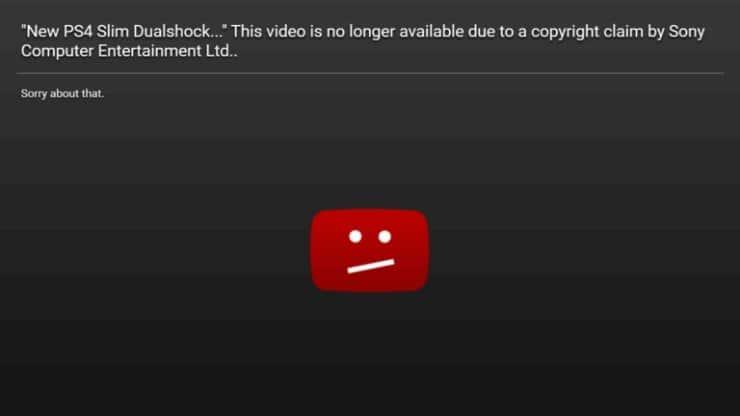 Блокировка видео на Youtube в стране где вы находитесь