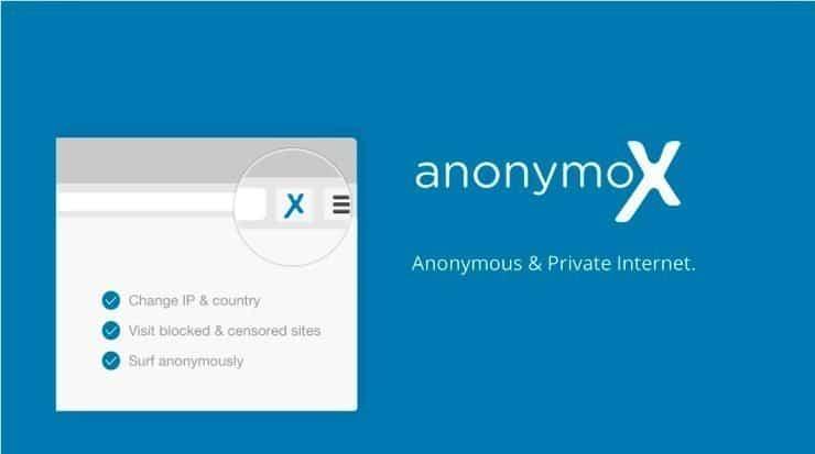 Anonymox VPN