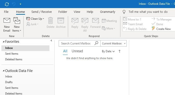 Outlook is one of the best secure email services available